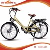 "26""inch aluminum alloy frame unisex city style durable electric motorbike"