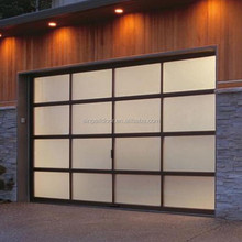 Automatic sectional window inserts garage door discount
