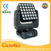 25pcs QUAD LED Array Beam Moving Head/4 in 1 led matrix blinder beam light