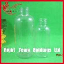 various of boston round plastic bottles