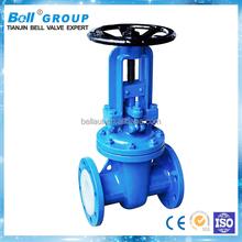 high quality manual chain wheel gate valve