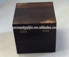 dark color wooden box