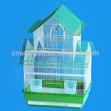 Plegable de metal jaulas de pájaros, nido de pájaro, la cría de aves de la casa para loros