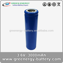 18650 3000mah lithium ion battery 3.7v as for external battery