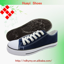 casual style wholesale man's cheap canvas shoes
