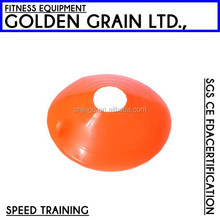 wholesale good quality plastic speed soccer training cone