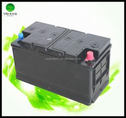 60038 12V sealed lead acid battery for car , JIS standard