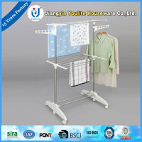 multi-layer pvc extendable clothes drying rack