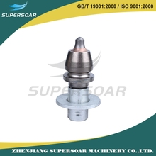 strong abrasive resistance tungsten carbide cutter pick shaped bits of small road milling machine