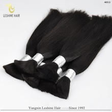 Alibaba Certificated Direct Factory 100% New Original Chemical Free european bulk hair for braiding