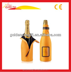Eco-friendly Customize Neoprene Champagne Bottle Cooler Bag