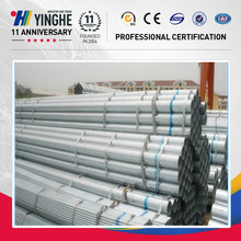 Por inmersión en caliente calss b galvanizado tubo cuadrado de acero fabricantes de china