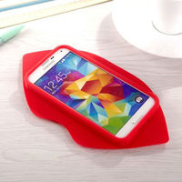 Pink Rubber 3D Lip Shaped Case For Samsung Galaxy S6 Lips Mobile Phone Protective Case Shell