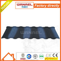 Classical Wanael stone coated steel roof tile/sheet metal roofing/color roof philippines