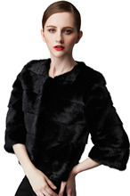 Women autumn and winter natural mink fur coat outerwear with best service