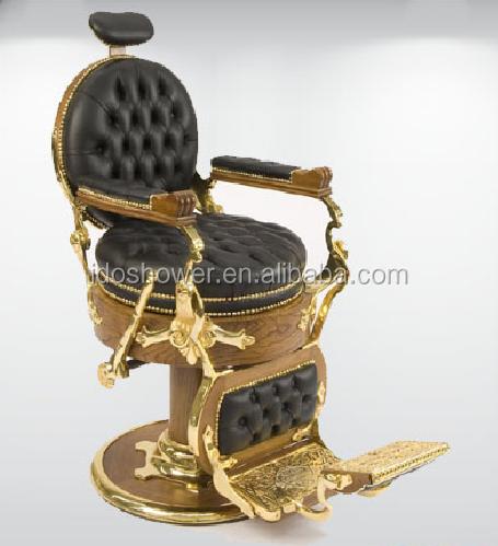 Confort vel cadeira de barbeiro antigo cadeiras do sal o for Sillas para barberia