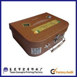 Custom Cardboard Box Luggage For Children Toy