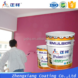 decorative wall painting waterproof elastic acrylic paint