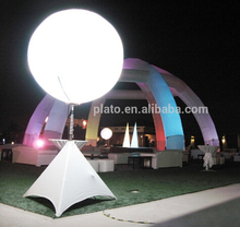 Event/Party decoration/advertising LED Lighting Inflatable tripod standing balloon