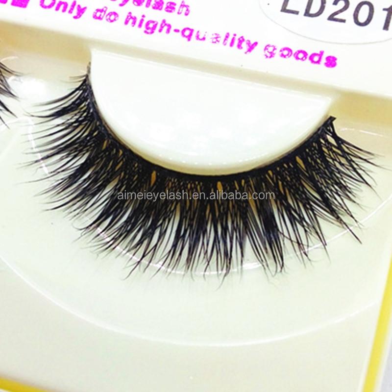 2015 New mink eyelash 100% mink Handmade crossing false lashes ...