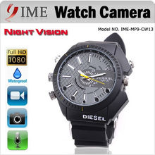 2013 Fashionable Wrist watch with Hidden Camera /DV Hd 1080p with night vision