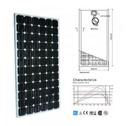 Durable 130w mono solar panel