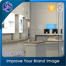 bright in color mobile phone shop interior design/ furniture design for mobile shop