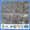 pvc/plastic coated gabion wire rock basket retaining wall/stone cage wall alibaba china
