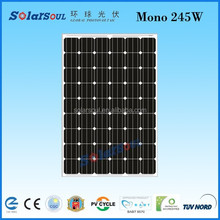 buy solar cells China Manufacturer 245w battery solar