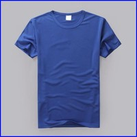 2015 blank sports wear lastest 100 polyester mesh fabric promotion t-shirt men plain soft dry fit t-shirt wholesale
