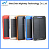 10000mah solar mobile phone charger for iphone phone rohs mobile solar charger