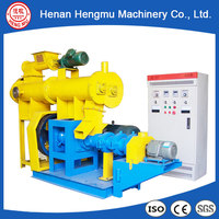 best sale CE fish feed manufacturing machinery wet floating fish feed making machine