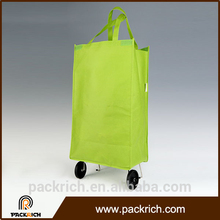 China online shopping waterproof easy bag for supermarket trolley for shopping