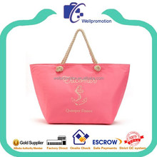 wellpromotion promotional insulated cooler tote bag with rope handles