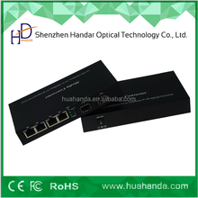 Professional supplier 2fx sfp gigabit and 4 tx gigabit switch