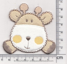 Animal patch for baby wear