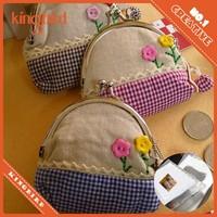 DIY coin purse kit/Handmade fabrics coins case