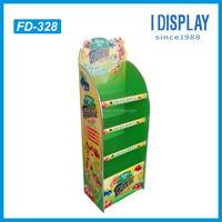 2014 Custom Point of sale Cardboard display toilet paper display