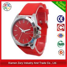 R0690 ZERY hottest sale quartz wrist watch for women, silicone strap quartz wrist watch for women