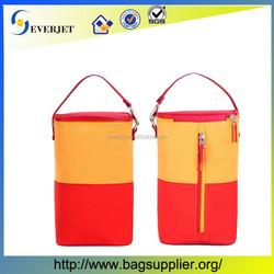 New design fashion exporting Insulation barrels aluminum foil bottle cooler bag