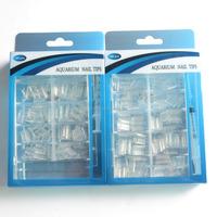 Syringe injector Nail Art Tips Clear aqua painting nails