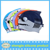 Hot sell silicone swimming hats for waterproof with high quality