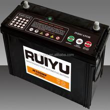 car batteries for sale N100 12v 100ah