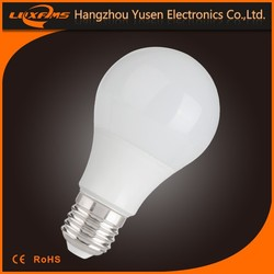 best selling CE Rohs EMC b22 e 27 led 220v 6W 10W 470lm 810lm 300 degree cheap led bulbs for homes