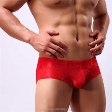 Sexy gay men underwear red lace men underwear
