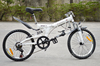 Latest model Trade assurance 20 inch Portable Folding mountain bike/Bicycle with Shi-ma-no derailleur