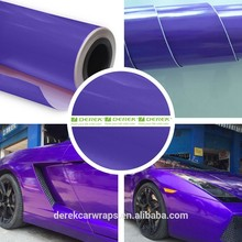 glossy pearl purple color car wrap for car interior or exterior protective film