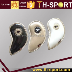 high quality pu golf iron covers head 3 colors
