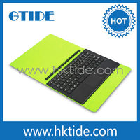 10.1inch tablet pc leather keyboard case,magic keyboard folio with touchpad,78 keys with scissor feet keyboard