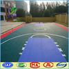 PP interlocking sports flooring for basketball court, tennis court